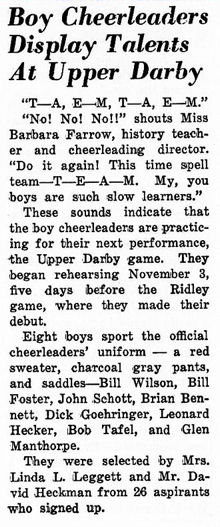Boy cheerleaders article
