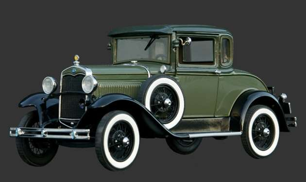 Model of 1931 Ford